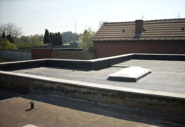 Delleuse entreprise de toiture plate for Toiture plate prix